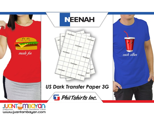 T Shirt Printing Business - US Dark Transfer Paper 3G