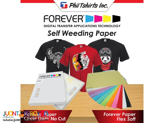 T Shirt Printing Business - Forever Paper Laser Dark No Cut A4