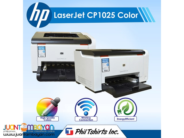 T Shirt Printing Business - HP Laserjet CP1025 Color