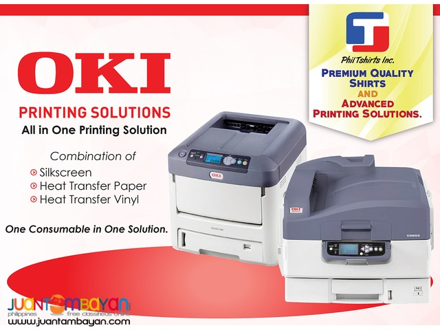 T Shirt Printing Business - OKI Laser Printer A4