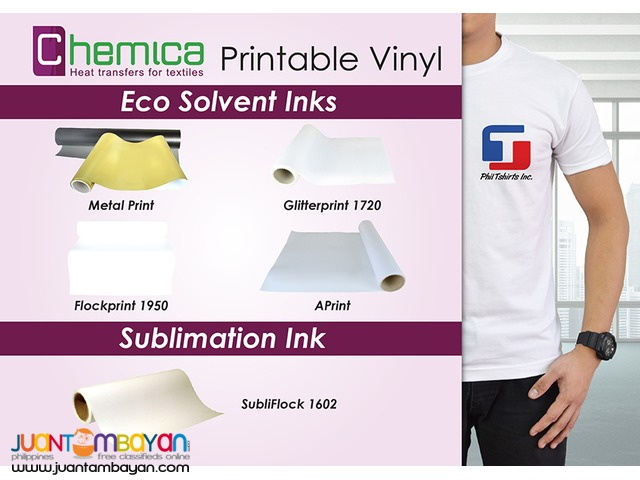 T Shirt Printing Business - Chemica SubliFlock 1602