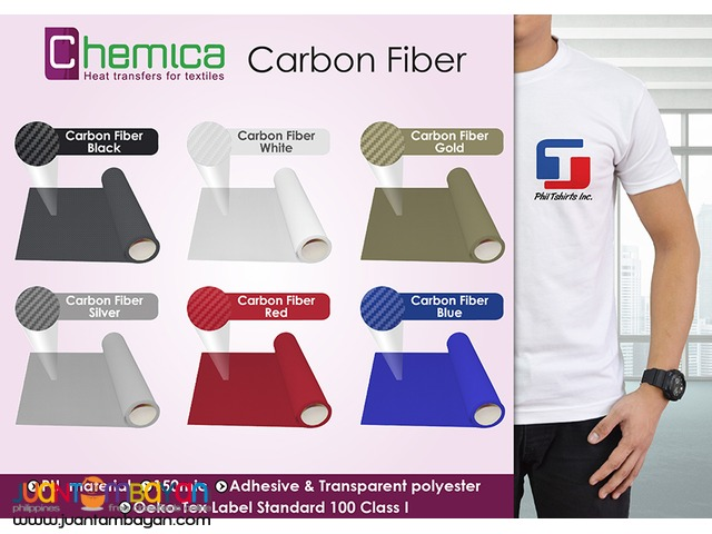 T Shirt Printing Business - Chemica Carbon Fiber Heat Transfer Vinyl