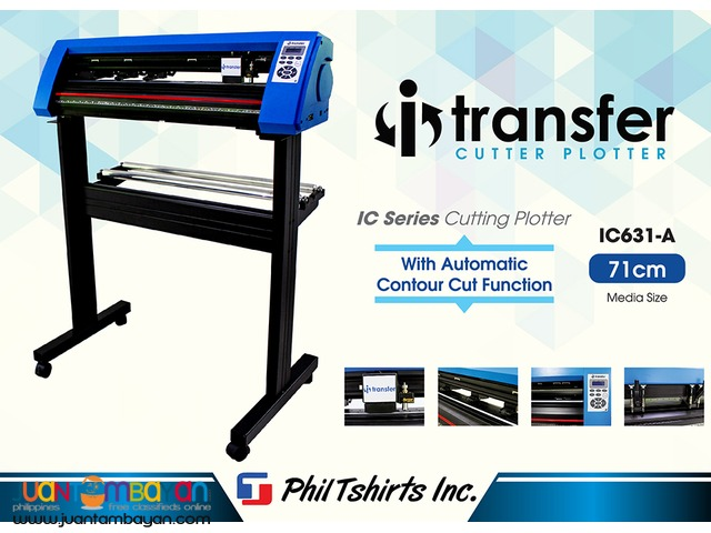 T Shirt Printing Business - I Transfer Cutter Plotter IC631-A