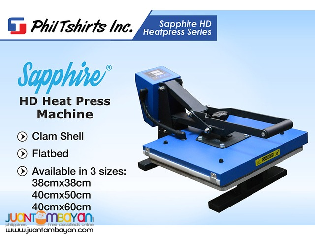 T Shirt Printing Business - Sapphire HD Heat Press Machine