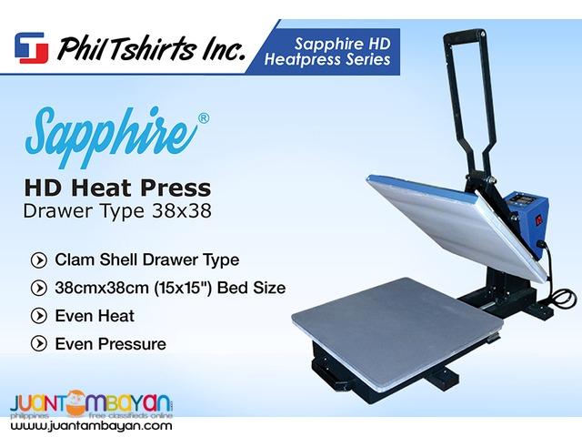 T Shirt Printing Business - Sapphire HD Heat Press Machine Drawer Type