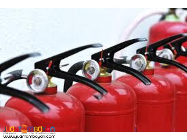 Dry Chemical Fire Extinguisher (Brand New and Refill Services)