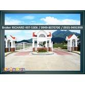 PONTEVERDE Batangas Lots = 5,600/sqm