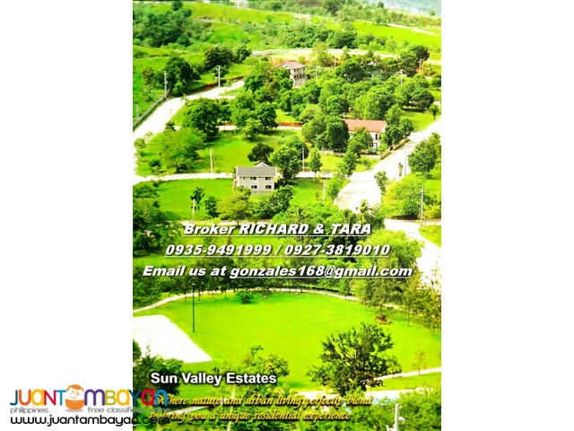 SUNVALLEY Marcos Hiway Antipolo LOTS - 5 yrs NO INTEREST