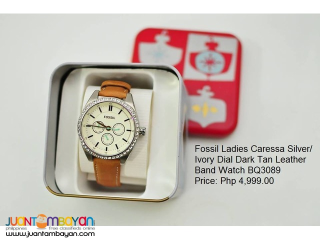 Brand new and Authentic Fossil Watches