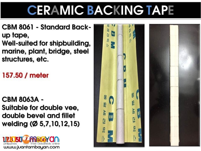 Ceramic Backing Tape