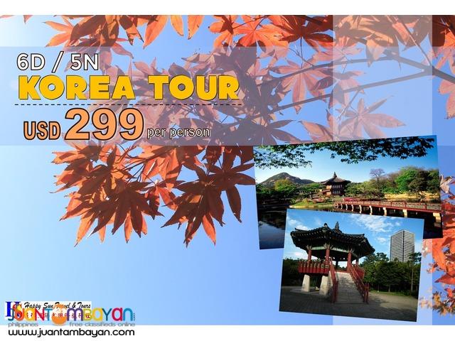 6D5N Korea Tour Package