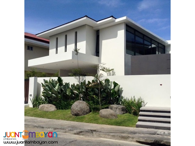 4 Br Ayala Alabang Brand New House For Sale Php 110M
