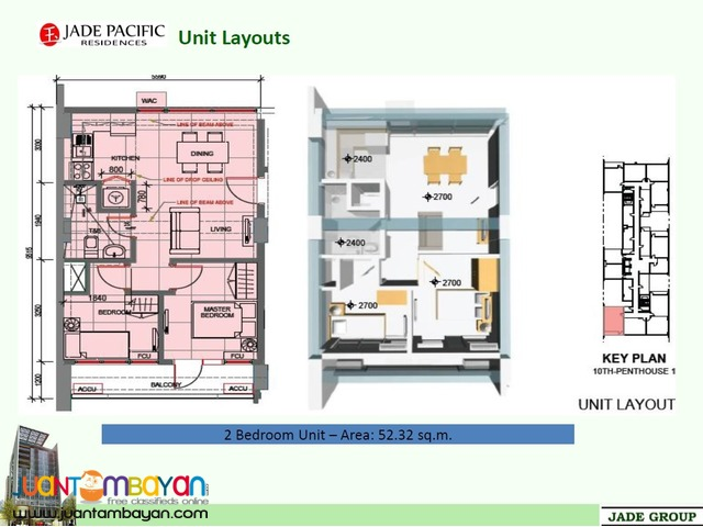 Affordable Condo Living Jade Pacific Residences in Cubao near Edsa