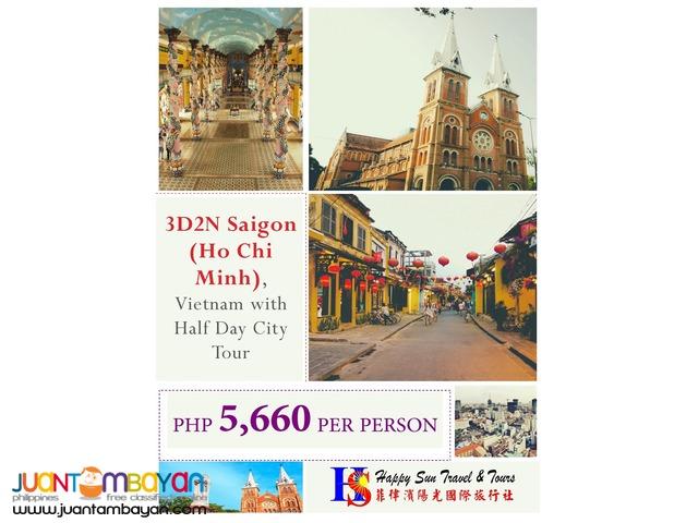 3D2N Saigon (Ho Chi Minh) Tour Package