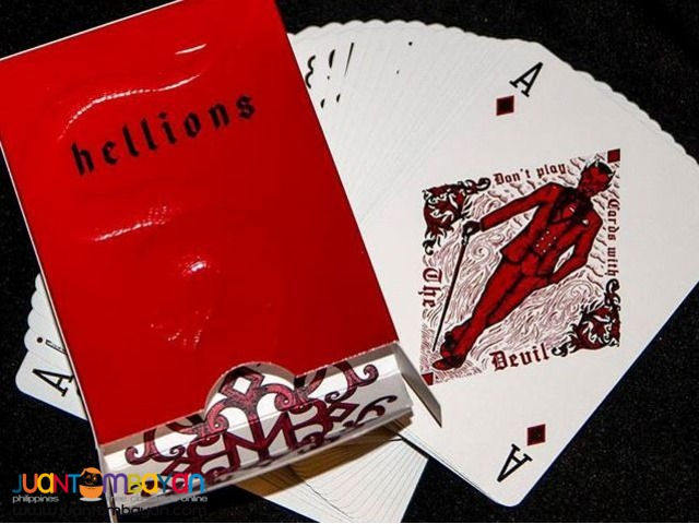 Madison Hellions v.2 Playing Cards