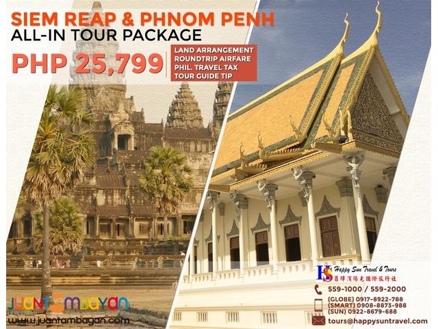Phnom Penh & Siem Reap All-In Package