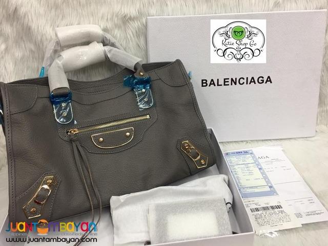 BALENCIAGA BAG - BALENCIAGA Classic Metallic Edge City