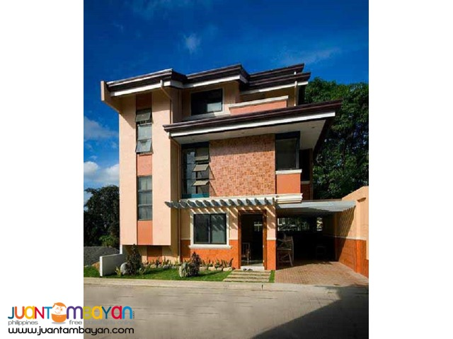 ELEGANT HOUSE W/ ATTIC AT ST. IGNATIUS HOMES, TALISAY CITY, CEBU