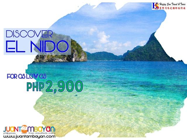 3D2N El Nido Package