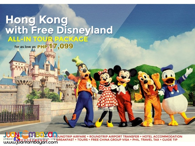 Hong Kong with Free Disneyland All-In Package