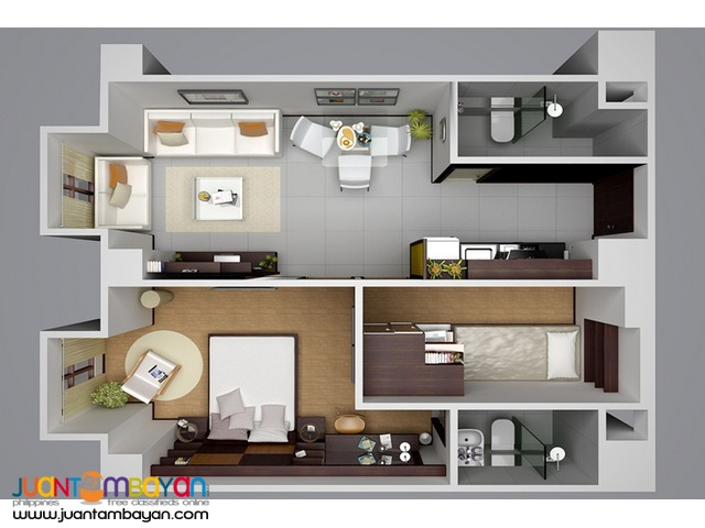 VICTORIA Station 2 EDSA Condo = Php 2,232,192 up/unit