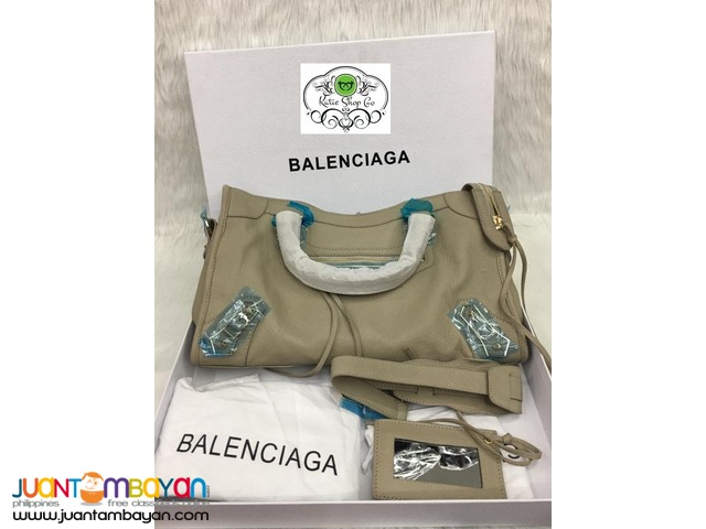 BALENCIAGA BAG - BALENCIAGA Classic Metallic Edge City
