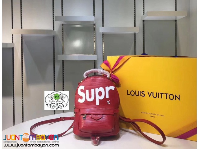 LOUIS VUITTON BACKPACK - LOUIS VUITTON SUPREME BACKPACK