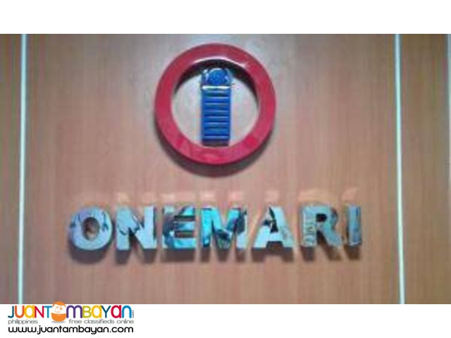 Stainless Steel Signage (Cut-out/Build-Up)