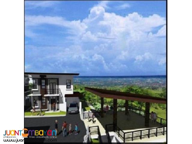 4 BR - RICKSVILLE HEIGHTS MINGLANILLA CEBU overlooking house and lot