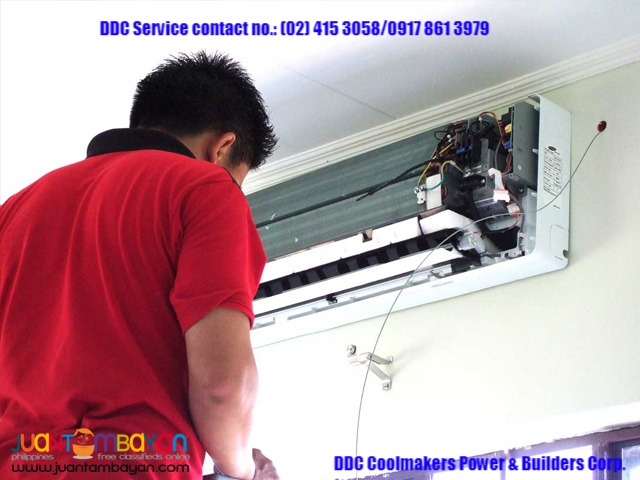 General cleaning repair and installation for aircon