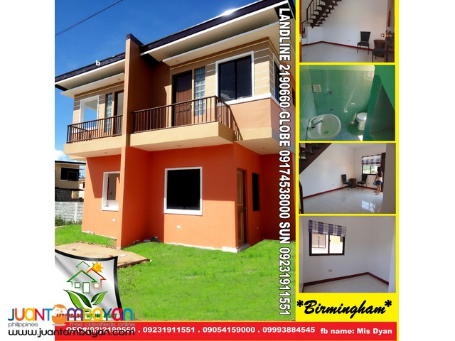 Birmingham Alberto House and Lot for Sale in SanMateo near QC Marikina