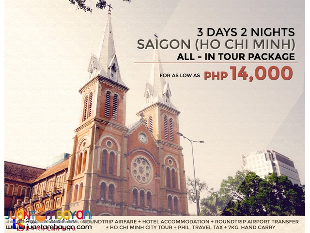 Saigon (Ho Chi Minh) All-In Tour Package