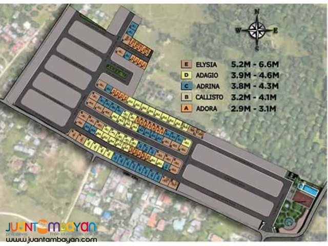 ADRINA Single Attached - 4BR / 2T&B house liloan cebu modena