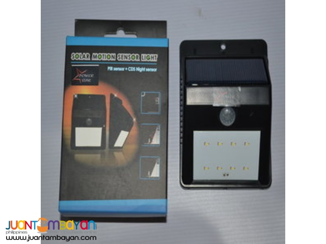 Solar motion sensor light (GT-SL 19P)