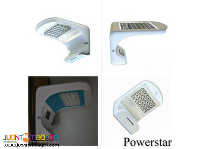 (GT-ESL 21) Solar PIR Wall Light