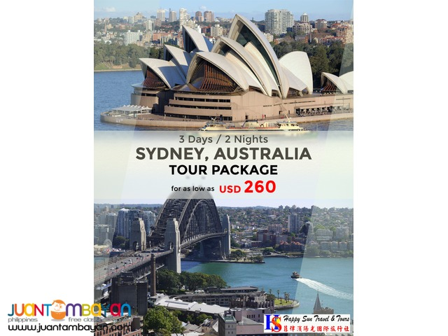 3D2N Sydney Tour Package