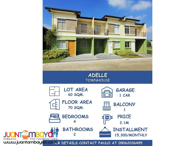 Affordable RENT TO OWN House and Lot for Sale in Cavite!
