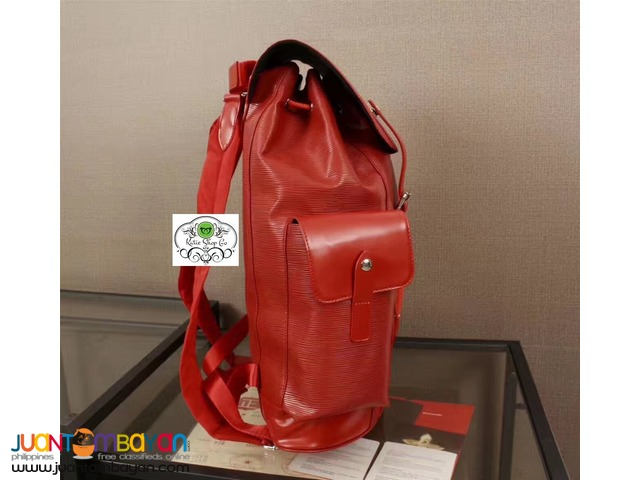 LOUIS VUITTON BACKPACK - LOUIS VUITTON CHRISTOPHER SUPREME BACKPACK