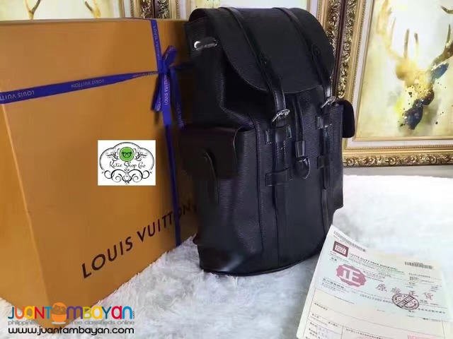 LOUIS VUITTON BACKPACK - LOUIS VUITTON CHRISTOPHER BACKPACK