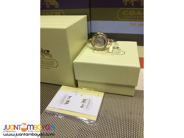 COACH WATCH - COACH BANGLE WATCH - LADIES WATCH