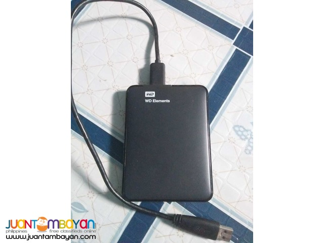 WD Elements External HDD