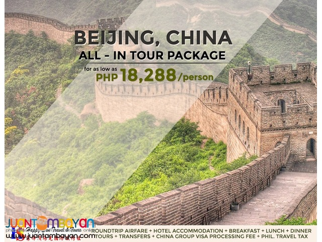 Beijing All-In Tour Package