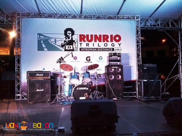 Band Equipment For rent