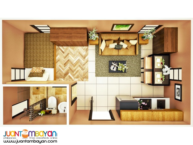 Affordable Studio Type Unit at Brentwood, Lapu-lapu City, Cebu