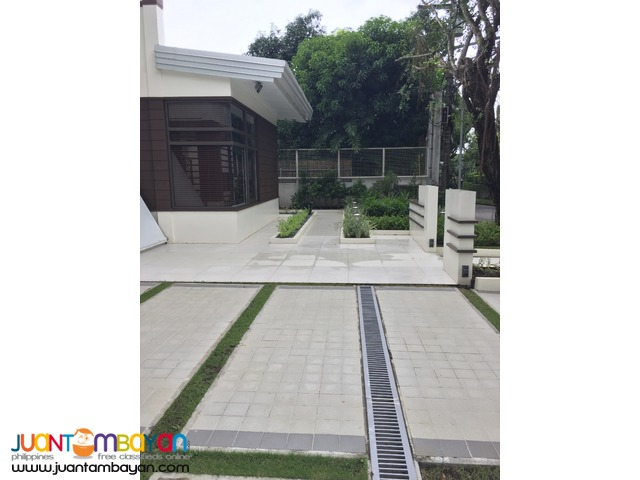 4 Br Ayala Alabang House For Lease 350k per Month