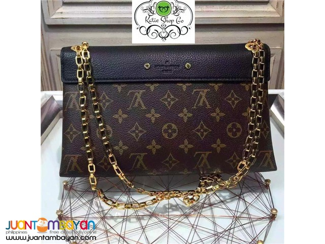 Louis Vuitton Pallas Chain Noir