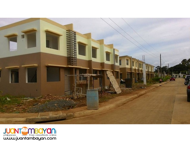 Townhouse in Puerto Princesa! On-Going construction.