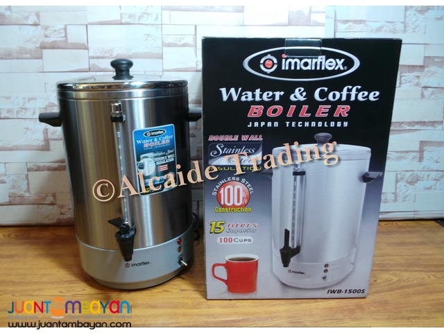 Water and coffee boiler Imarflex (peculator)