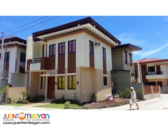 4BR 2-Storey Single Attached House at Modena, Consolacion, Cebu