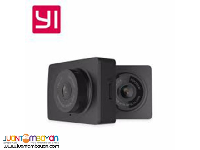 "Yi 2.7"" LCD Full HD Wide Angle Smart Car DVR Dashboard Camcorder"